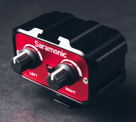 Saramonic Audio Adapter med 3.5mm ingångar