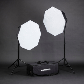 Portabelt Softbox Set