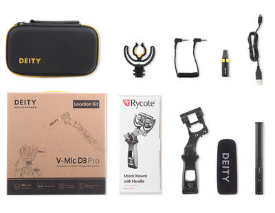 Aputure Deity V-Mic D3 Location Kit
