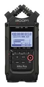 Zoom Handy Recorder H4n Pro All Black