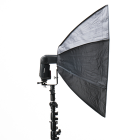 Speedlite octabox/beauty dish (paraplytyp)