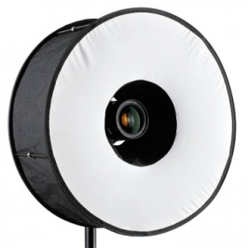 Ringblixt softbox diffusor för kamerablixt