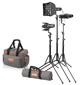 GODOX S30 FOCUSING LED LIGHT 3-pack