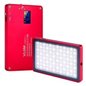Vijim VL-1 LED Video light röd