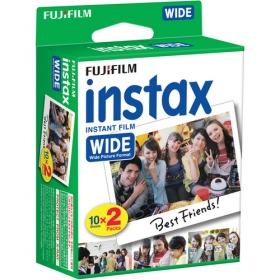 Fujifilm Instax 200 Instant Color Print Film Wide (ISO 800) (Twin Pack)
