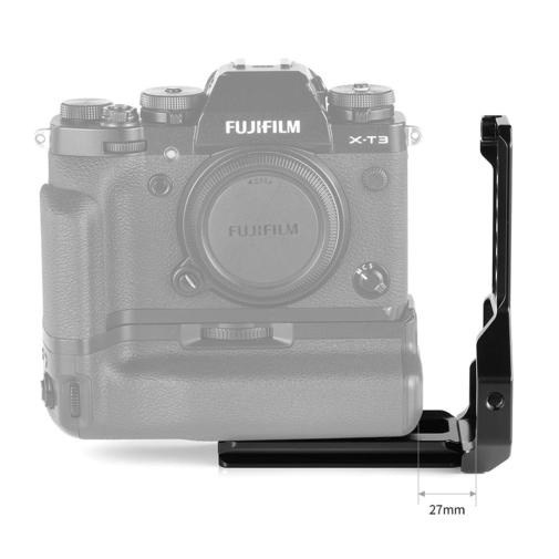SmallRig L-Bracket Half Cage for Fujifilm X-T2/X-T3 Camera with Battery Grip 2282