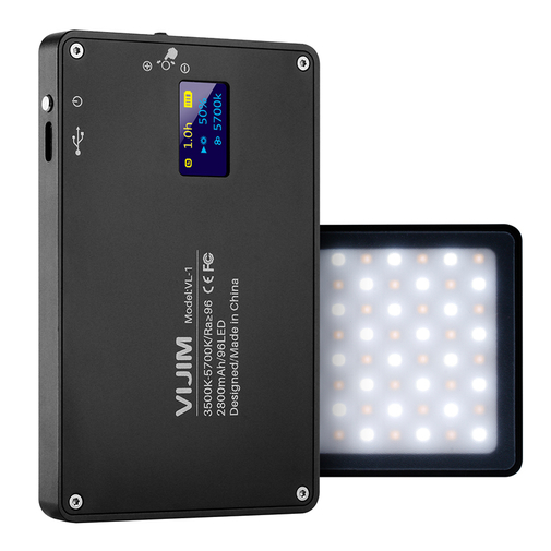 Vijim VL-1 LED Video light svart 1328