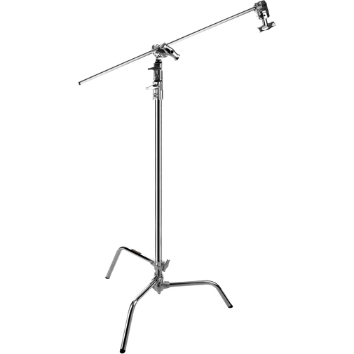 C-stand 3.2 meter med grip arm (Silver)