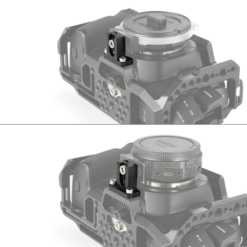 SmallRig Lens Mount Adapter Support for BMPCC 4K 2247
