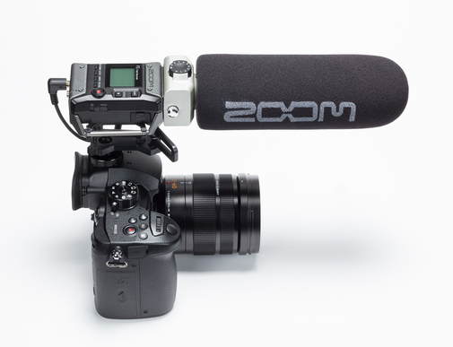 ZOOM F1-SP Field Recorder & Shotgun mikrofon
