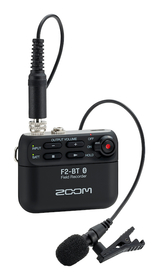 Zoom F2-BT Field Recorder & mygga