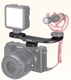 ULANZI PT-8 Hot Shoe Microphone Extention Mount for Vlog Camera