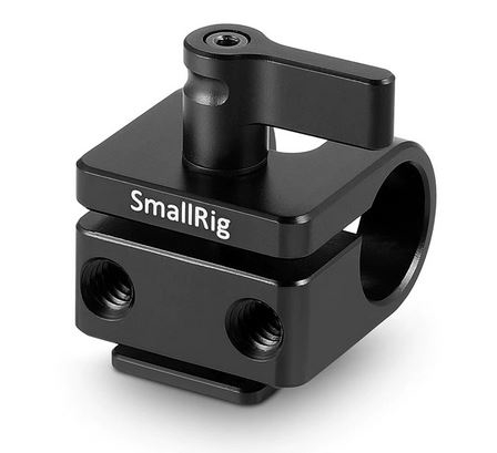 SmallRig 15mm Rod Clamp with Cold Shoe 1597