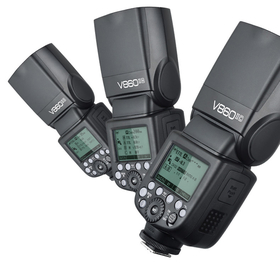Godox V860II Kit kamerablixt med Li-ion batteri