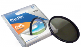 Phottix Pro Cirkulärt Polarisationsfilter (1mm)