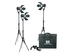 LED Fresnel Kit - Set med 3st