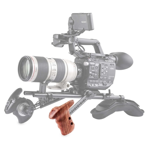 SmallRig Left Side Wooden Grip with Arri Rosette 1891