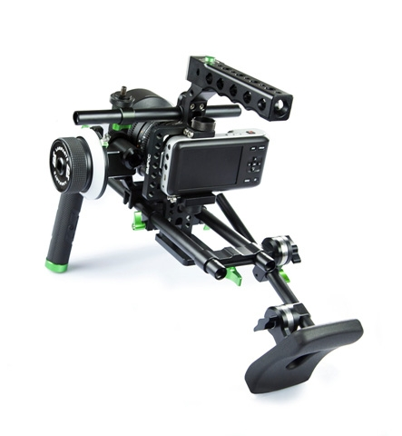 BlackMagic Pocket Cinema Camera Cage (axelrigg med halvbur)