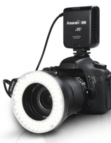 Aputure Halo Ringblixt 100 LED